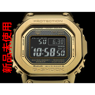 カシオ(CASIO)の【送料無料】CASIO G-SHOCK タフソーラー フルメタル ゴールド(腕時計(デジタル))