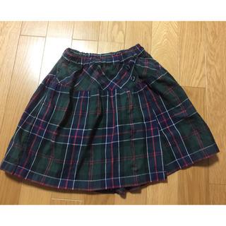 ファミリア(familiar)のファミリア 巻きスカート風キュロット 110センチ(スカート)