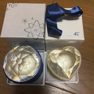 ヨンドシー(4℃)のリングケース&空箱 4℃ リング、ネックレス用 2点セット(リング(指輪))