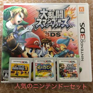 ニンテンドー3DS - 星のカービィ スターエアライズ  スーパーマリオブラザーズ スマブラ 3DS