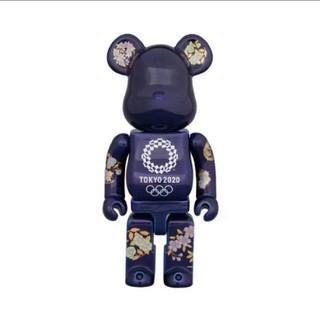 メディコムトイ(MEDICOM TOY)の送料込み 有田焼 ベアブリック 400% 東京 2020 オリンピックエンブレム(その他)