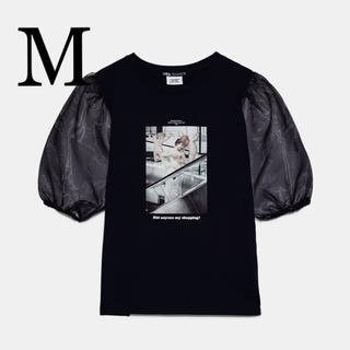 ZARA - 新品 BLESSURES D'AMOUR ©. プリント柄Tシャツ