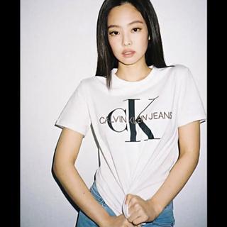 Calvin Klein - 美品 カルバンクライン ロゴ Tシャツ 人気 ロゴTシャツ S ブラックピンク