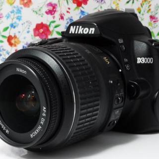ニコン(Nikon)の❤️初心者最適機種❤️Nikon D3000 レンズセット(デジタル一眼)