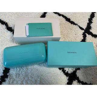 ティファニー(Tiffany & Co.)のティファニー Tiffany& Co. サングラス入れ メガネケース(サングラス/メガネ)