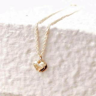 ヨンドシー(4℃)の最後の1点🌛 heart necklace* ハートネックレス(ネックレス)