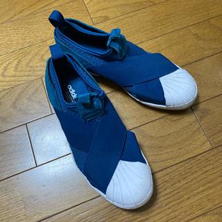 adidas - adidas superstar スリッポン