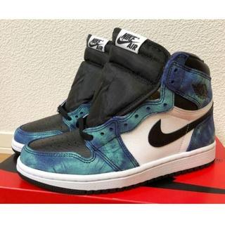 28.5cmAIR JORDAN 1 HIGH OG TIE-DYE(スニーカー)