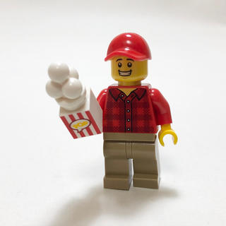 【新品未使用】レゴ LEGO ポップコーン販売員