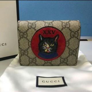 Gucci - GUCCI グッチ ミスティック キャット 猫 二つ折り財布