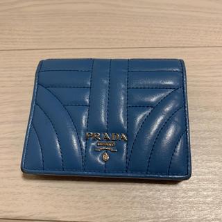 PRADA - プラダ 財布 二つ折り コンパクト