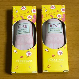 L'OCCITANE - ロクシタンローズハンドクリーム 2個セット