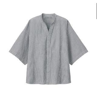 ムジルシリョウヒン(MUJI (無印良品))のMUJI  Labo  綿ポプリン スタンドオープンカラーシャツ  他(シャツ)