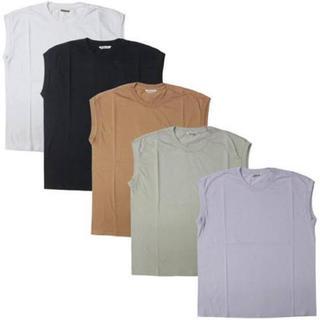 デミルクスビームス(Demi-Luxe BEAMS)のAURALEE SEAMLESS CREW NECK SLEEVELESS(Tシャツ(半袖/袖なし))