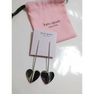 kate spade new york - 【新品】kate spade ケイトスペード ピアス ヘリテージ シルバー