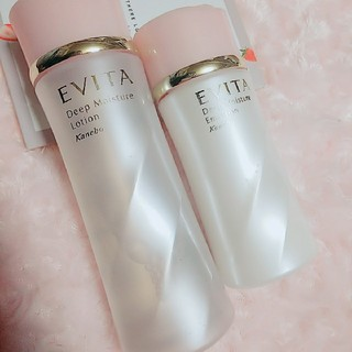 エビータ(EVITA)の♡EVITA★化粧水&乳液セット♡(化粧水/ローション)