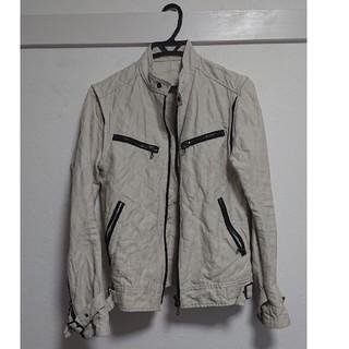 シェラック(SHELLAC)のシェラック ブルゾン(袖脱着可能)(ライダースジャケット)