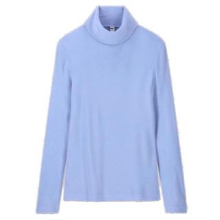 ユニクロ(UNIQLO)のヒートテックフリースタートルネックT(Tシャツ(長袖/七分))