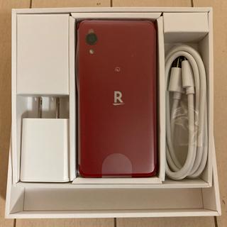 ラクテン(Rakuten)の新品未使用品 Rakuten Mini クリムゾンレッド (スマートフォン本体)