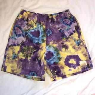 ステューシー(STUSSY)のstussy tie dye swim shorts タイダイ柄 ショーツ 水着(水着)