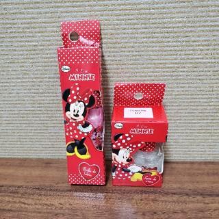 ディズニー(Disney)の新品 未使用 ミニーちゃん グロス ネイル(リップグロス)