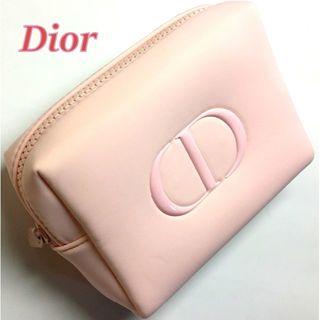 Dior - 定形外★2020新作 Dior ライトピンク ツヤ CDロゴ コスメポーチ