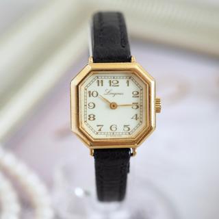 ロンジン(LONGINES)の希少⭐️ロンジン オクタゴン アンティーク 仕上げ済⭐️オメガ agete(腕時計)