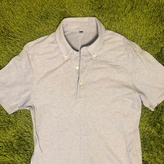 ムジルシリョウヒン(MUJI (無印良品))の無印良品 ポロシャツ  ブルー(ポロシャツ)