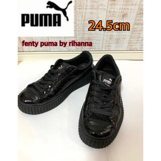 プーマ(PUMA)の美品フェンティプーマ  FENTY puma by rihanna厚底スニーカー(スニーカー)