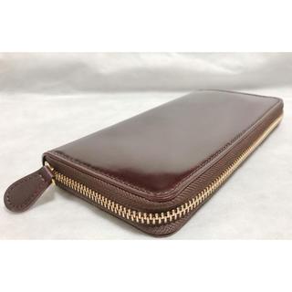 ガンゾ(GANZO)ののーむ様専用 シェルコードバン2 ラウンドファスナー長財布(長財布)