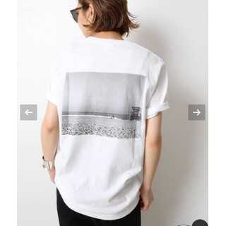 DEUXIEME CLASSE - 新品☆Deuxieme Classe Photo T-shirt ホワイトB