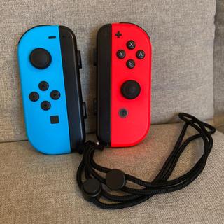 Nintendo Switch - 動作確認済 Nintendo Switch ジョイコン ストラップ付き