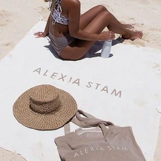 アリシアスタン(ALEXIA STAM)のALEXIA STAM Beach Bag set アリシアスタン ビーチバッグ(トートバッグ)