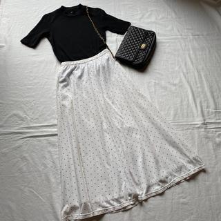 ロペ(ROPE)の【vintage】ROPE⭐️水玉ロングスカート(ロングスカート)