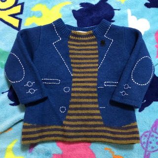 ファミリア(familiar)のファミリア セーター だまし絵 80(ニット/セーター)