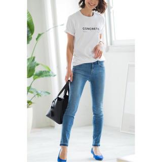 PLST - PLST(プラステ) コットン天竺クルーネックTシャツ★コラボロゴTシャツ