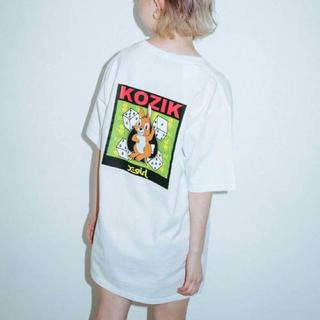 エックスガール(X-girl)のx-girl×KOZIK Tシャツ(Tシャツ(半袖/袖なし))