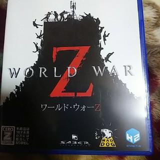 PlayStation4 - PS4 ワールド・ウォーZ