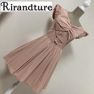 Rirandture - リランドチュール フロントリボン風ワンピース ドレス