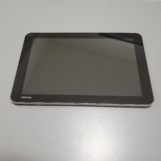 トウシバ(東芝)の【値下げしました】東芝 Androidタブレット A204YB レッド(タブレット)