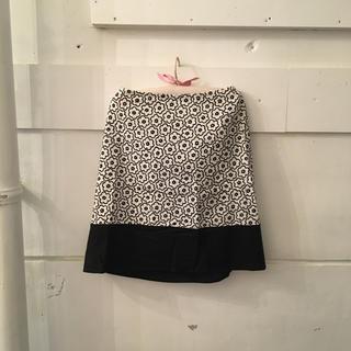 agnes b. - agnes b. flower skirt.