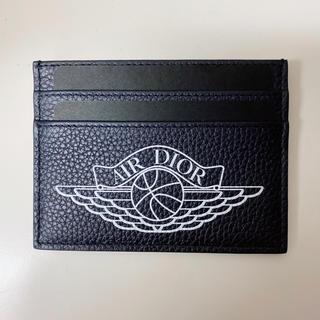 クリスチャンディオール(Christian Dior)のレア♡Dior jordan カードケース ネイビー(名刺入れ/定期入れ)