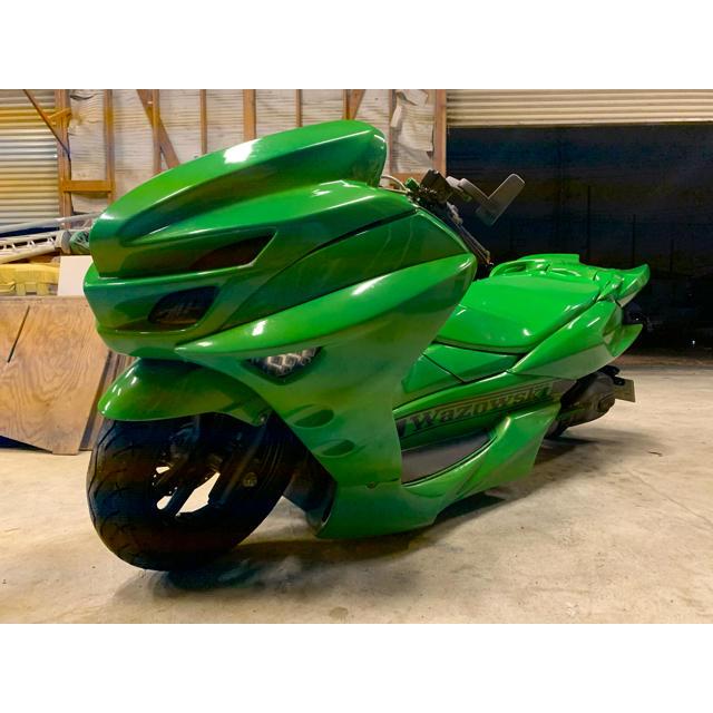 ヤマハ(ヤマハ)のマジェスティフルカスタム 自動車/バイクのバイク(車体)の商品写真