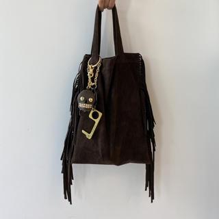 DEUXIEME CLASSE - 新品 🤎 MUSE de Deuxieme Classe フリンジ BAG