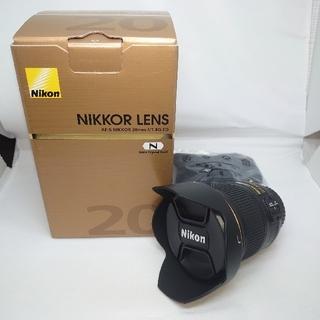 ニコン(Nikon)の美品NIKKOR LENS AF-S NIKKOR 20mm f/1.8G ED(レンズ(単焦点))