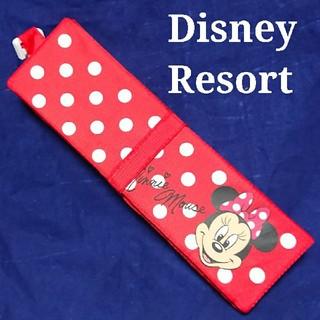 Disney - ディズニーリゾート ポータブルクッション 座布団 シート ミニー 美品 一日使