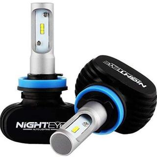 NIGHTEYE正規品】H8/H9/H11/H16 車検対応 ledヘッドライト(ホイール)