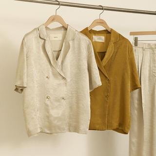 TODAYFUL - todayful サテンシャツ