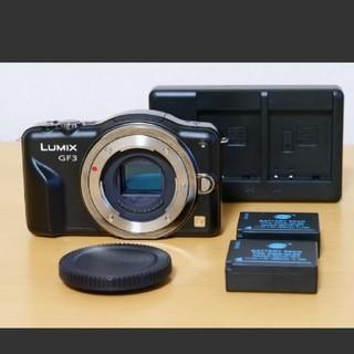 Panasonic - 【良品】Panasonic LUMIX GF3 人気ミラーレス