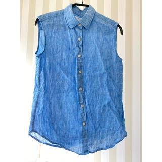 ユニクロ(UNIQLO)のノースリーブシャツ UNIQLO【送料込】(シャツ/ブラウス(半袖/袖なし))